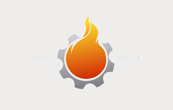 Fire Outline Logo