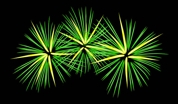 Fireworks Animated Clipart