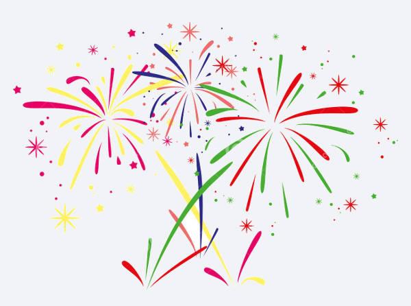 Fireworks Vector Clipart