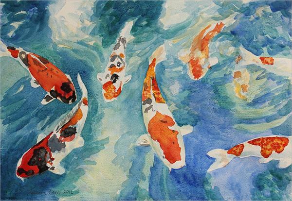 Fish Aquarium Fish Drawing