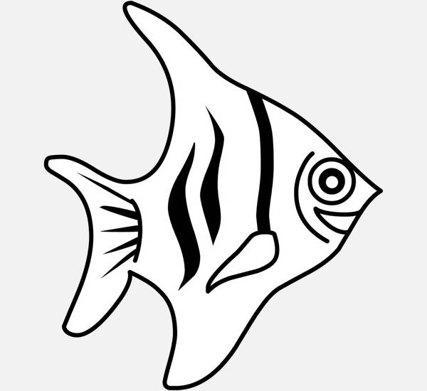 Fish Outline Clipart