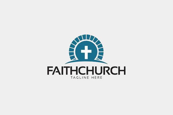 Flat Church Logo
