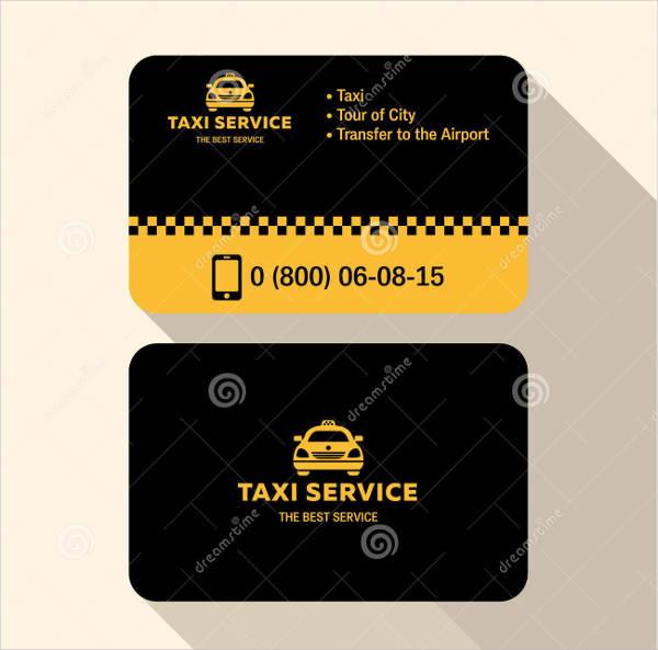 Flat Plastic Business Card