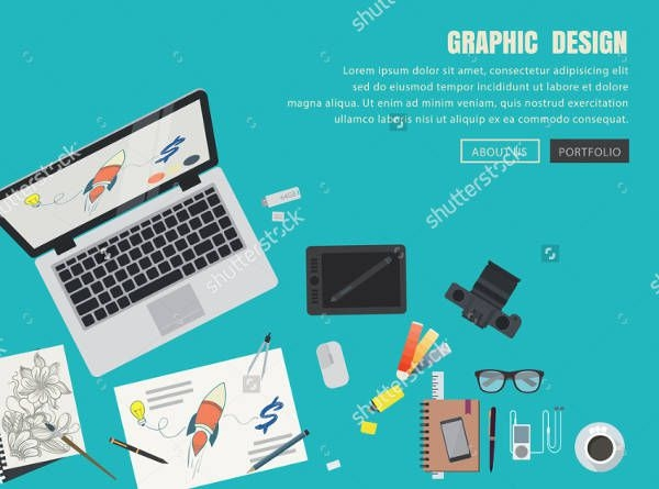 Flat Vector Graphic Design