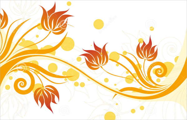 Flower Swirl Vector