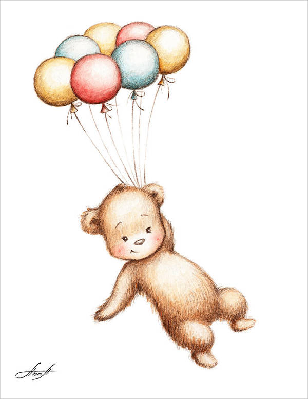 9 teddy bear drawings jpg download flying teddy bear drawing altavistaventures Image collections