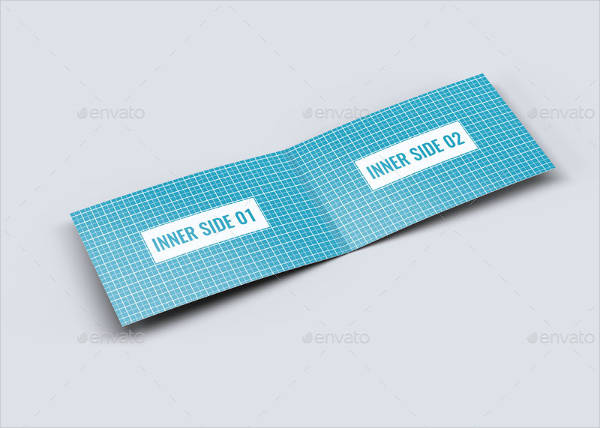 folded business card mockup1