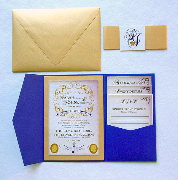 Folder Pocket Invitation