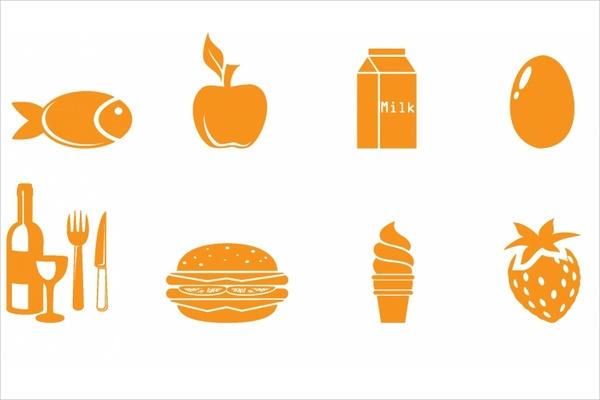 Food Symbol Icons