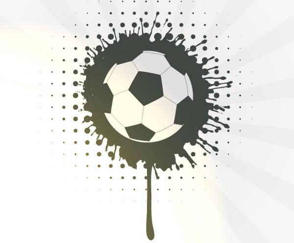 Football Abstract Vector