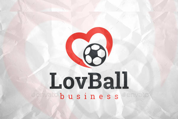 Football Love Logo