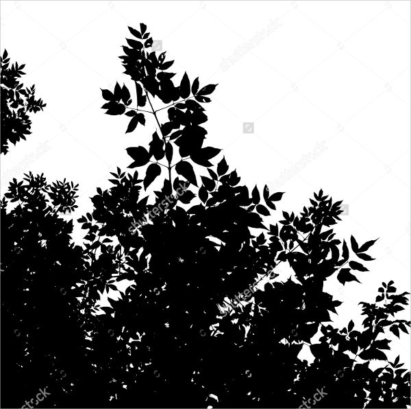 Forest Silhouette Clipart