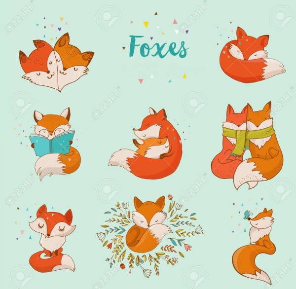 Fox Vector Clipart