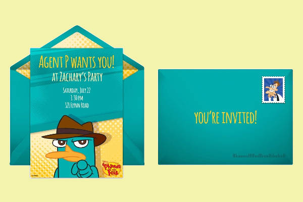 Free Animated Email Invitation