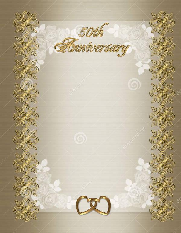 Free Anniversary Invitation