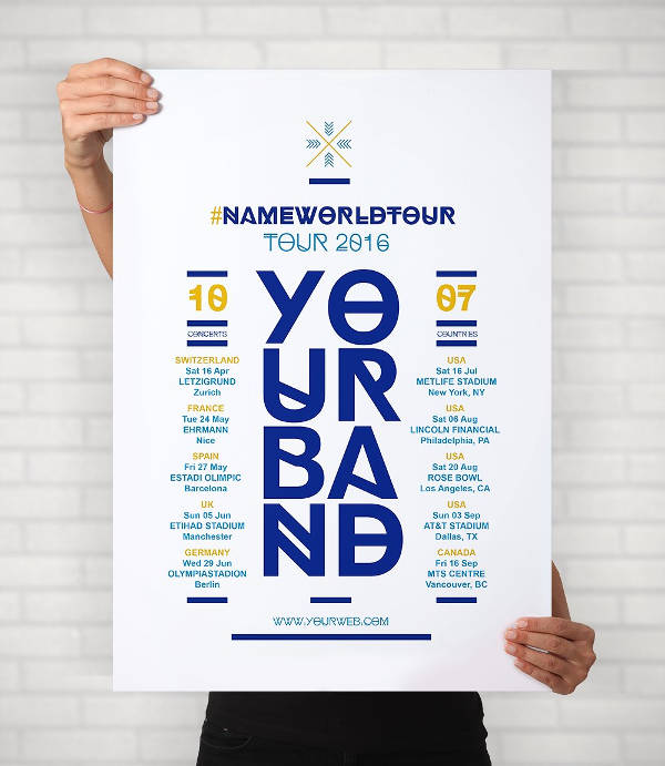 Free Band Poster