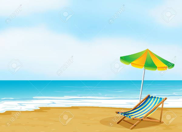 clipart beach scenes - photo #1