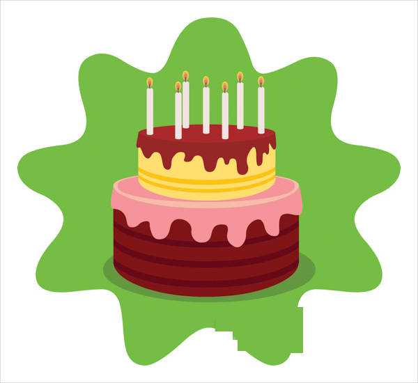 12+ Birthday Cake Clip Arts - Free Vector EPS, JPG, PNG ...