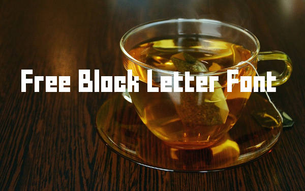 Free Block Letter Font