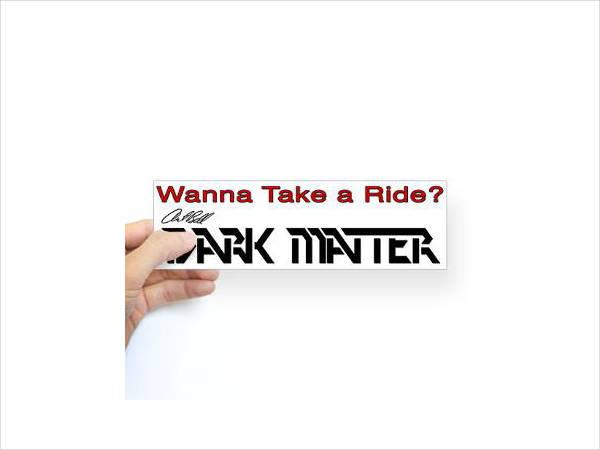 Free Bumper Sticker