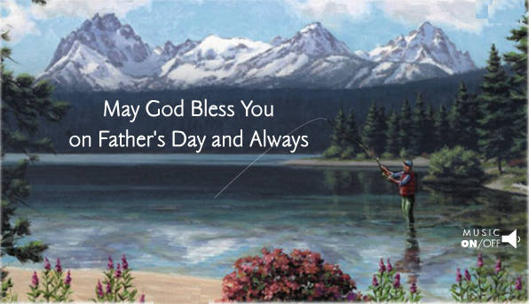 free christian fathers day ecard