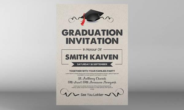 Free College Graduation Invitation