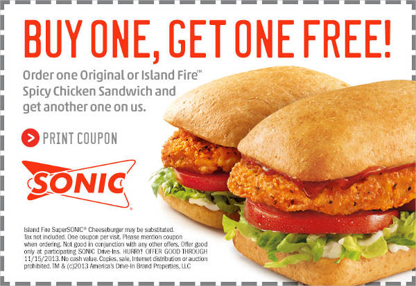 Free Colorful Food Coupon Design