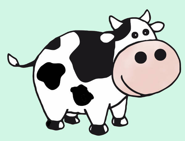 Free Cow Cartoon Clip Art