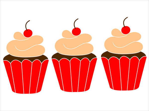 21+ Cupcake Cliparts - Vector EPS, JPG, AI Illustrator ...