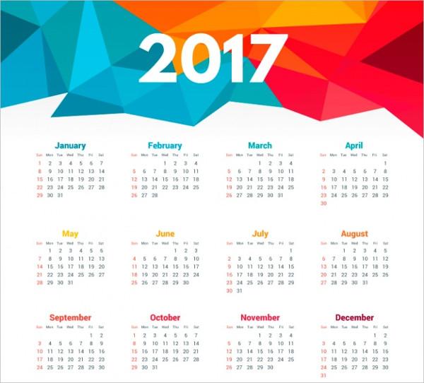 Free Daily Calendar