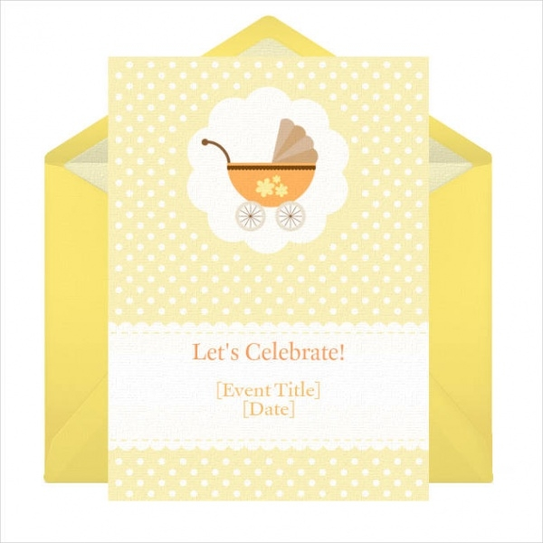 Free Email Baby Shower Invitation
