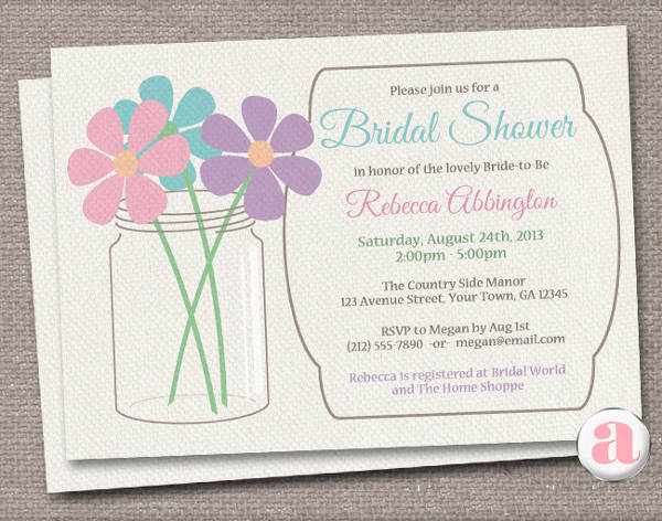 Free Email Bridal Shower Invitation