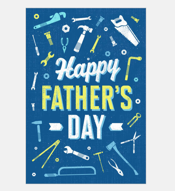 Happy Fathers Day Animated Card