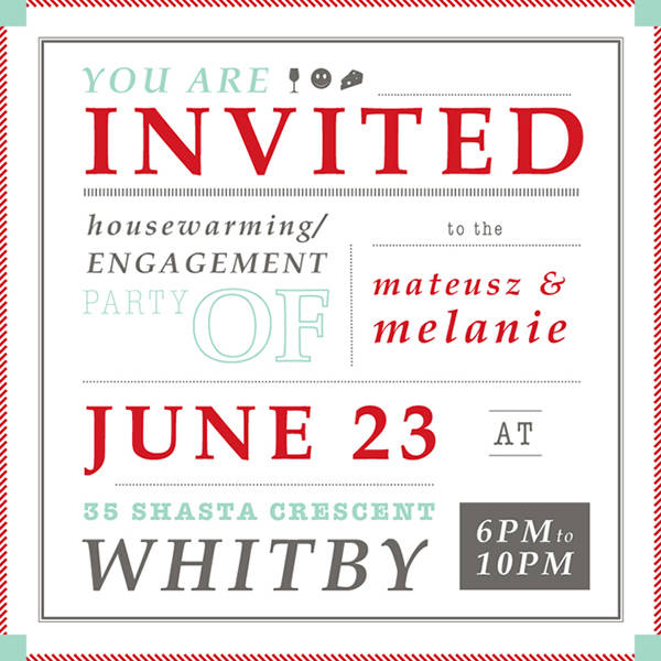 Free Housewarming Party Invitation Design