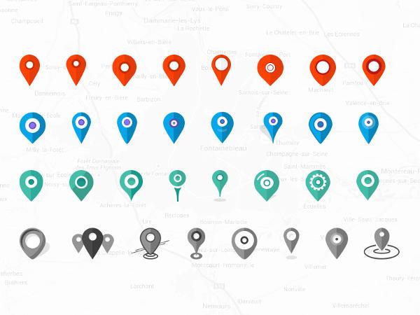 Free Location Icons