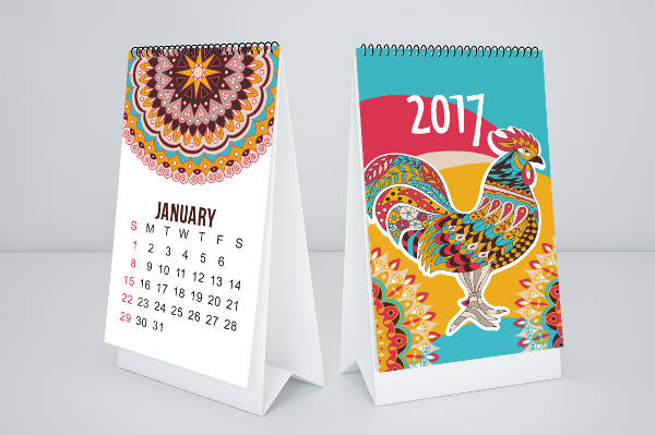 Free Monthly Calendar Design