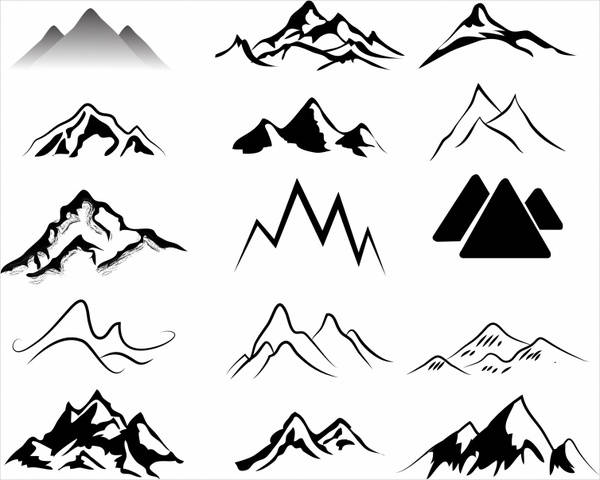 Free Mountain Silhouette