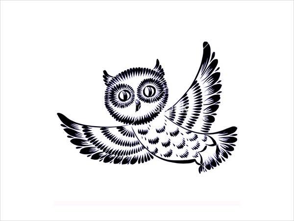 Free Owl Silhouette
