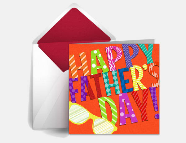 free personalized fathers day ecard