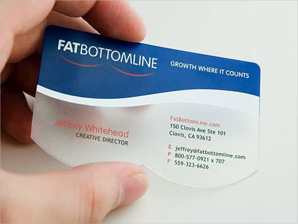 Free Plastic Business Card
