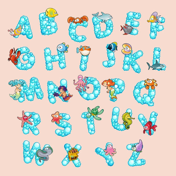 9 Free Printable Alphabet Letters Free Ttf Otf Format Download