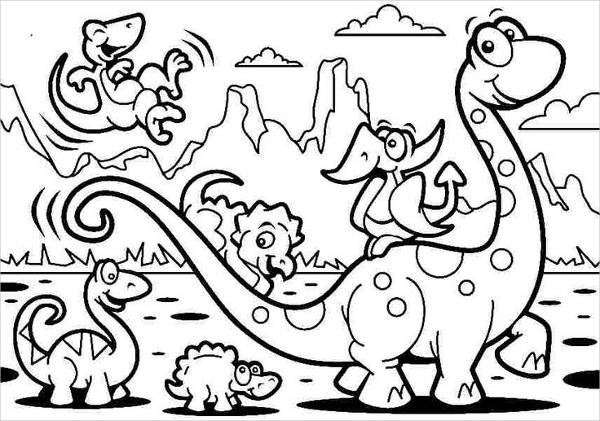Free Printable Coloring Page for Kid's