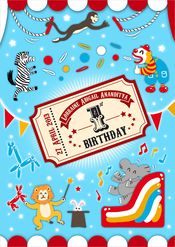 9 Birthday Party Invitations – Free Party Invites