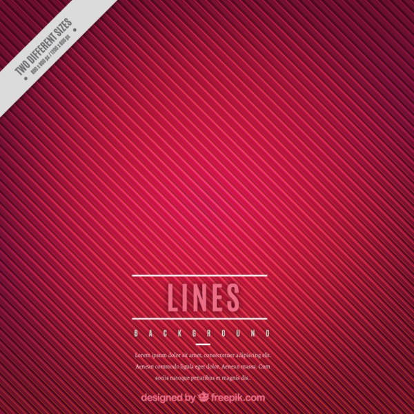Free Red Vector Background