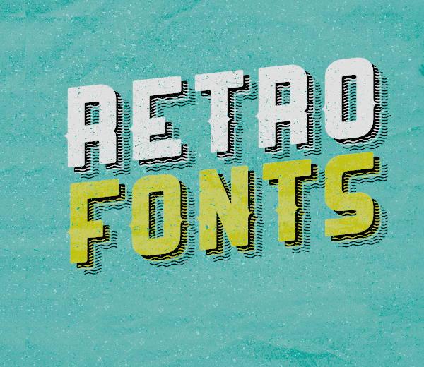 Free Retro Font