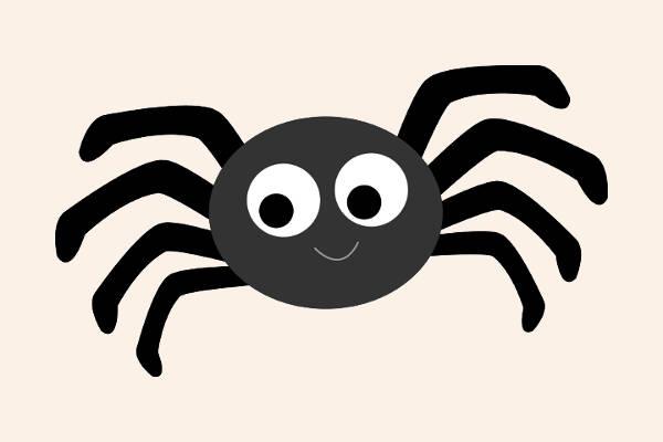 free spider clipart
