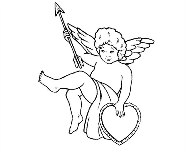 Free Valentine Coloring Page