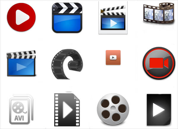 Free Video Icons