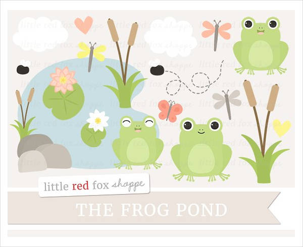 Frog Pony Clipart