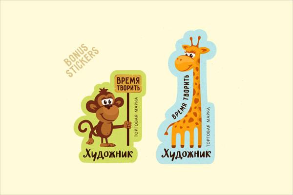 Funny Animal Sticker